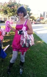 Penny - our favorite street walker 2012 with a broken wrist