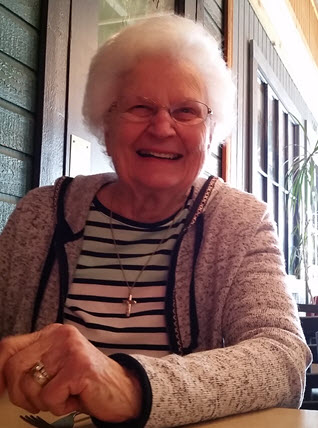 Mom on 93rd birthday